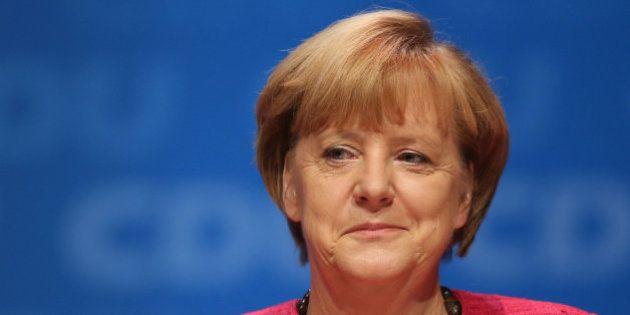 Merkel pide el voto en las elecciones alemanas para