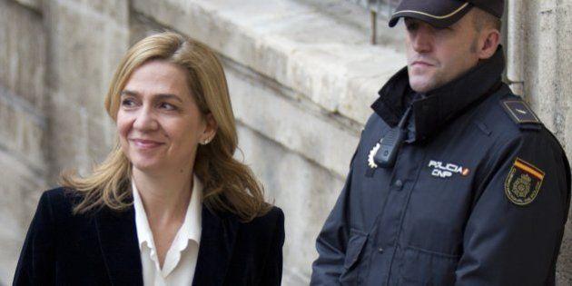 La infanta Cristina será juzgada por el caso