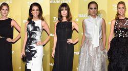 Elegancia en blanco y negro en los Prix de la Moda Marie