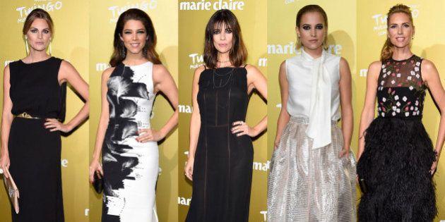 Prix de la Moda Marie Claire 2015: elegancia en blanco y negro