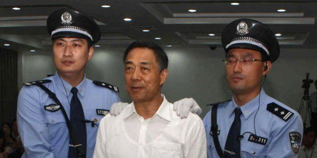 El exdirigente chino Bo Xilai, condenado a cadena perpetua por corrupción y abuso de