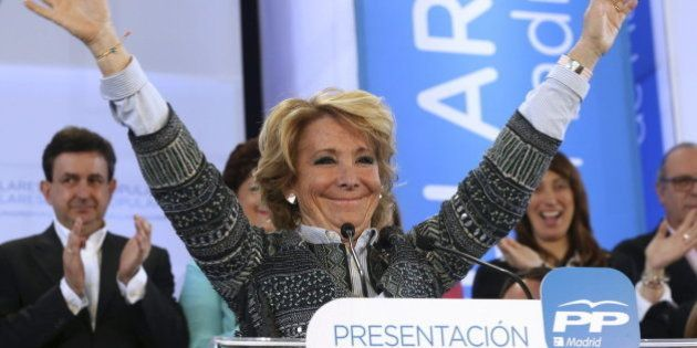 Desestimada la querella de Podemos contra Aguirre por vincularles con ETA y el