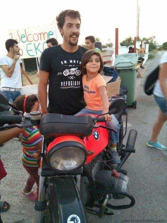4.000 kilómetros en moto para ayudar a los