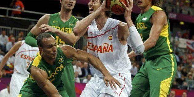 Juegos Londres 2012: España evita a Estados Unidos al perder contra Brasil por