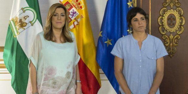 Podemos mantiene su 'no' a la investidura de Susana Díaz, a la que acusa de falta de