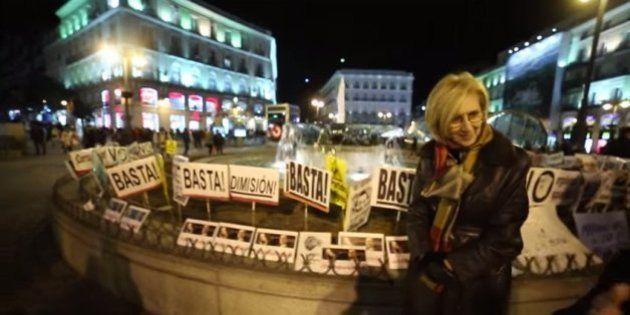 Rosa Díez, ante el fiasco de su manifestación: