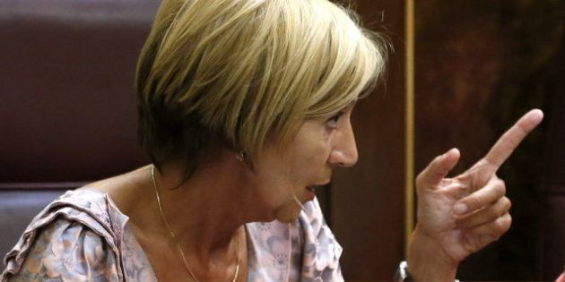 Rosa Díez defiende intervenir a Cataluña en caso de