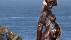 Una obra de Damien Hirst con vistas al mar