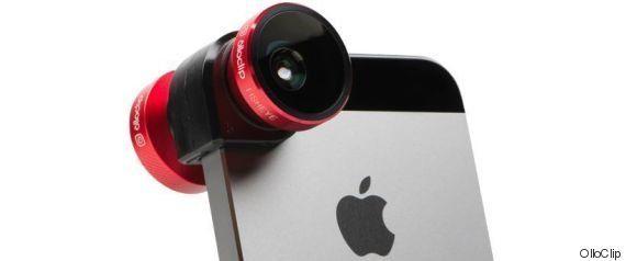 Lentes para transformar tu smartphone en la cámara del