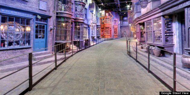 Google cartografía también el mundo de ficción de Harry Potter