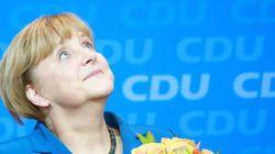 13 fotos de Merkel muy muy feliz (FOTOS,
