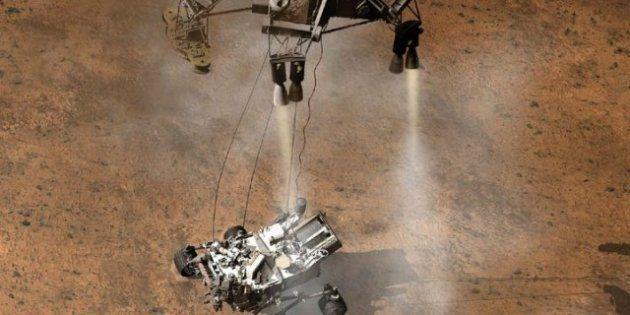 'A Marte en tiempos revueltos' y otros chistes que copiar sobre el Curiosity en Marte