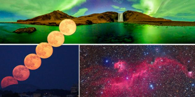 Viendo estas fotos, la lucha por ganar el Astronomy Photographer of the Year 2015 va estar MUY