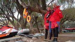 Sobrevivió a un tsunami y ahora ayuda a los refugiados en