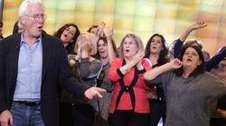 Richard Gere sustituye a Julia Roberts por el público de 'El