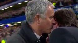 La bronca de Mourinho al entrenador rival tras una dura