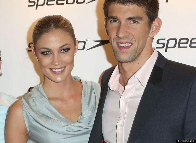 La novia de Michael Phelps: Megan Rossee comparte posado con el nadador