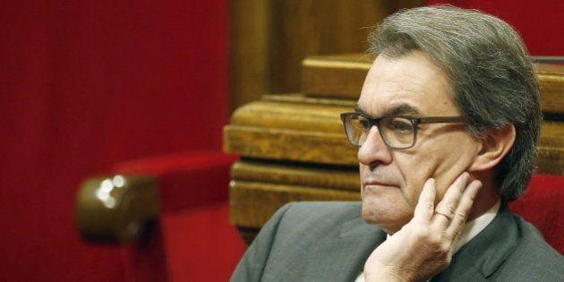 El TSJ de Cataluña investigará a Artur Mas por