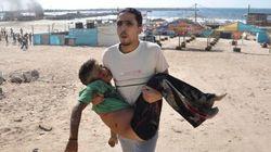 Israel mata a cuatro niños palestinos que jugaban en una