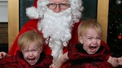 Fotos con Papá Noel que NO salieron como se