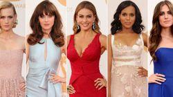 Todos los vestidos de los Emmy 2013