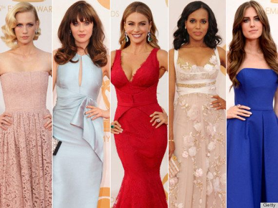 Alfombra roja Emmy 2013: todos los vestidos