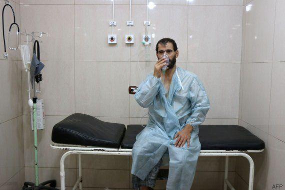 Organizaciones humanitarias denuncian un ataque químico del ejército sirio contra civiles en