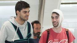 Llegan a Bilbao la mayoría de los jóvenes que viajaban en el