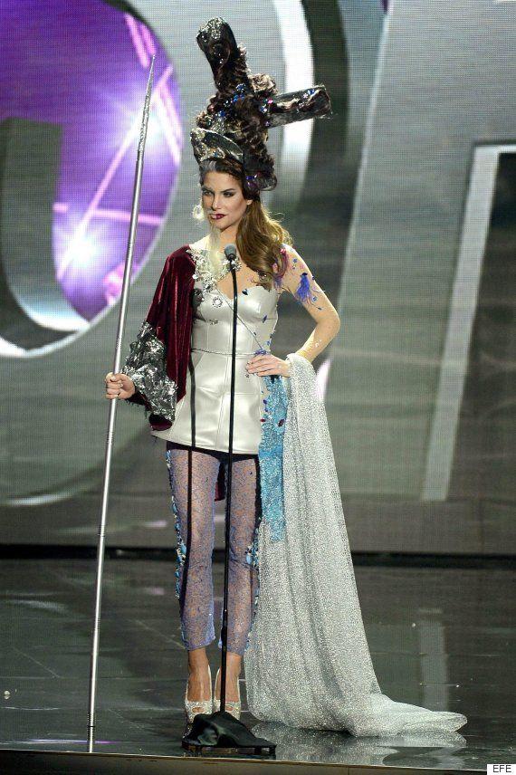 Miss Universo 2016: Carla Barber es Don Quijote en el desfile de vestidos regionales
