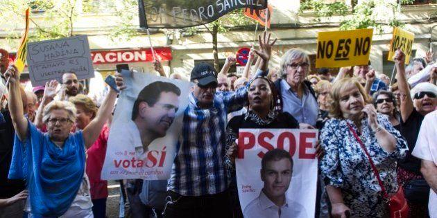 Militantes del PSOE se concentrarán el sábado en