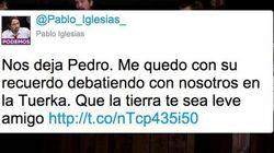 Las despedidas de los políticos a Pedro Zerolo