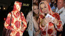 Las famosas tienen 'mono' de pizza