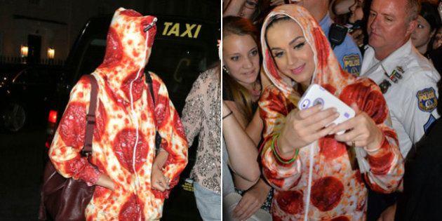 Cara Delevigne y Katy Perry tienen 'mono' de pizza