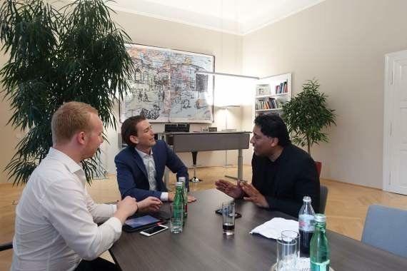 Tiene 28 años y ya es ministro de Asuntos Exteriores de Austria: ¿Le toman en