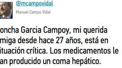 Twitter se despide de Concha García