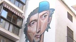 Joaquín Sabina ya tiene su propio mural en Úbeda, su ciudad