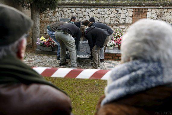 Comienza en España la primera exhumación de la