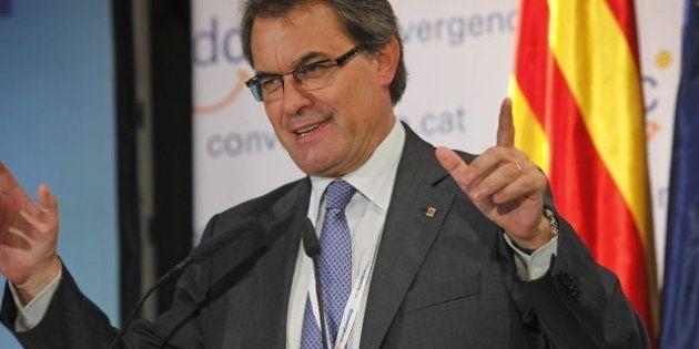 Pulso entre Rajoy y Mas en vísperas de su