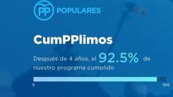 #Cumpplimos: Otra campaña del PP que se vuelve en su contra en Twitter