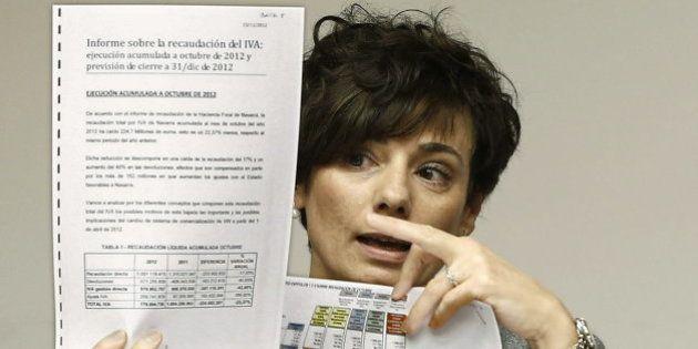 La exdirectora de la Hacienda navarra asegura que Barcina le ofreció ser consejera de