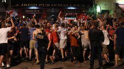 Los 'hooligans' ingleses ya están a palos en