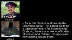Ucrania difunde un vídeo con supuestas pruebas que atribuyen el siniestro a los