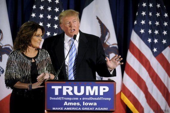 Sarah Palin anuncia su apoyo a Donald Trump para las primarias