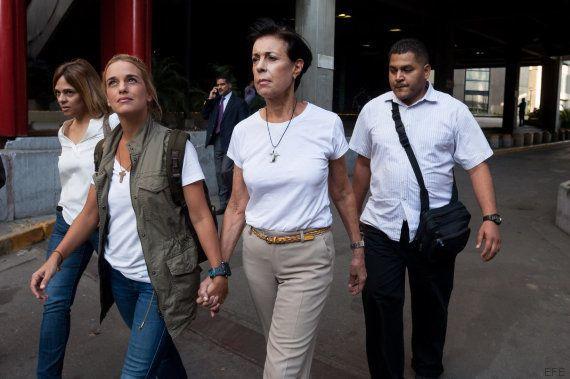 Tintori tras visitar a su marido en la cárcel: