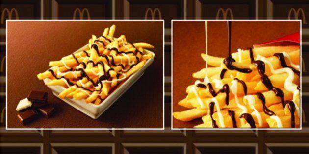 La última locura de McDonald's: patatas fritas con