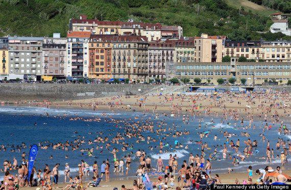 Las 10 playas más abarrotadas de Europa
