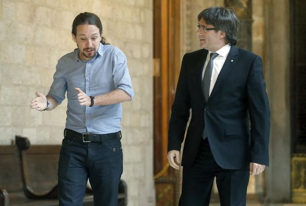 Euskadi, Cataluña, Podemos: si se agita el cava, sale