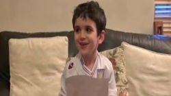 Este niño envió una petición por carta a Mourinho... y Mourinho contestó