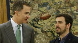 Alberto Garzón hace 'trending topic' al rey por llamarle