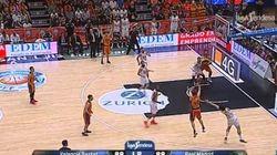Polémico final de partido entre el Valencia Basket y el Real